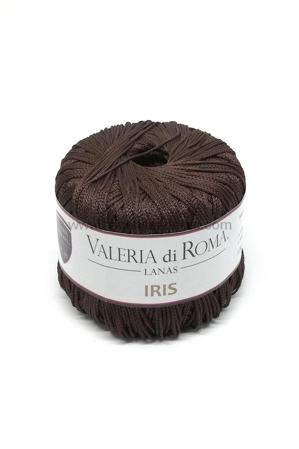 Ovillo de viscosa 100% Valeria di Roma 50 gr mod. IRIS color marrón