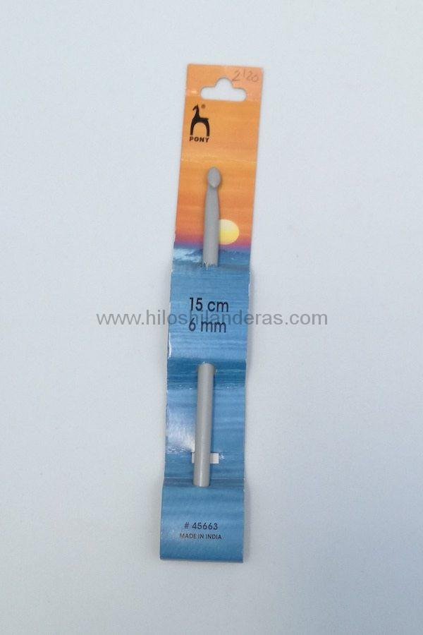 Agujas de ganchillo o crochet Pony 2 mm - 10 mm